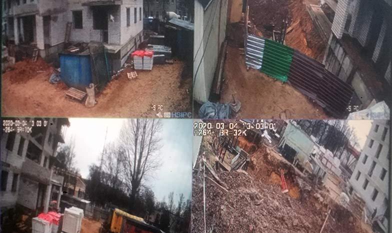 камеры в мониторе видеонаблюдения