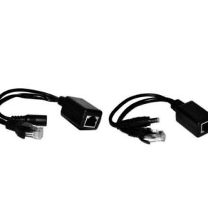 Комплект poe инжектор + poe сплитер фото